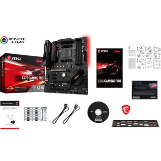 MSI X470 GAMING PRO AMD X470 So.AM4 Dual Channel DDR4 ATX Retail