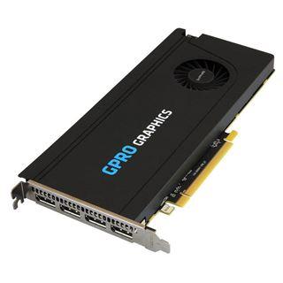8GB Sapphire Gpro 8200 8GB GDDR5 PCI-E QUAD DP Brown Box