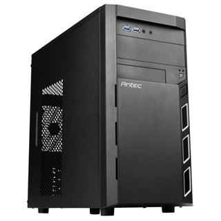 Antec Geh VSK-3000Elite-U3 Mini Tower USB3 schwarz retail