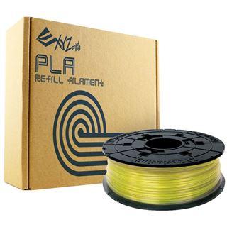 XYZPrinting Filamentcassette Clear Refill PLA für da Vinci gelb