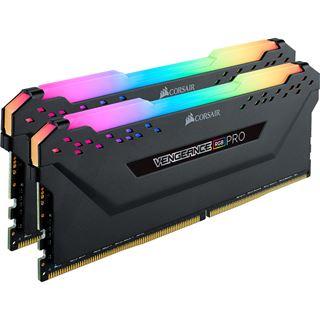 16GB Corsair Vengeance RGB PRO schwarz DDR4-2666 DIMM CL16 Dual Kit