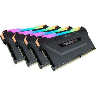 32GB Corsair Vengeance RGB PRO schwarz DDR4-2666 DIMM CL16 Quad Kit