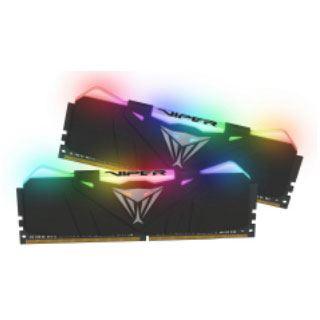 16GB Patriot Viper RGB schwarz DDR4-2666 DIMM CL15 Dual Kit