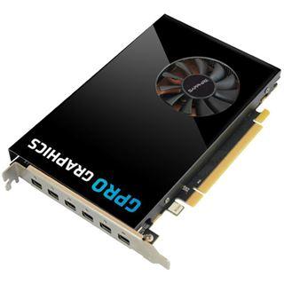 4GB Sapphire GPRO E8870 GDDR5 PCIE HEXAD MINI DP UEFI LITE 6