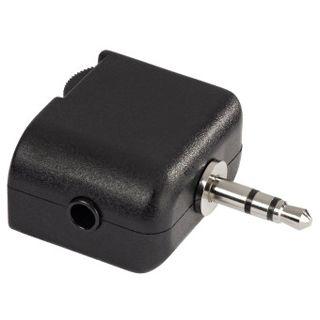 Hama Adapter 3.5-mm-Klinke - 2x 3.5-mm-Klinke, Schwarz