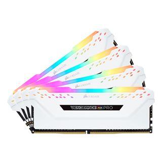 64GB Corsair Vengeance RGB PRO weiß DDR4-2666 DIMM CL16 Quad Kit