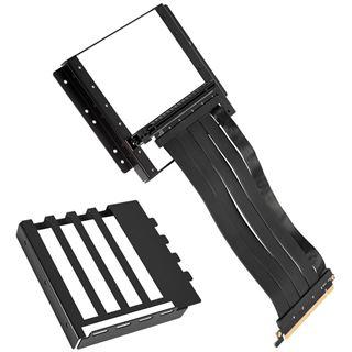Lian Li O11D-1X Riser Card Kabel + PCI-Slot-Blende, schwarz