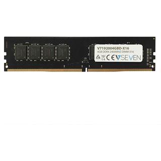 4GB V7 192004GBD DDR4-2400 DIMM CL17 Single