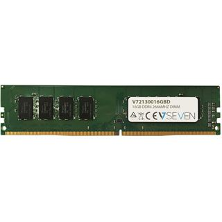 16GB V7 V7213001GBD DDR4-2666 DIMM CL19 Single