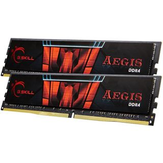 32GB G.Skill Aegis DDR4-2666 DIMM CL19 Dual Kit