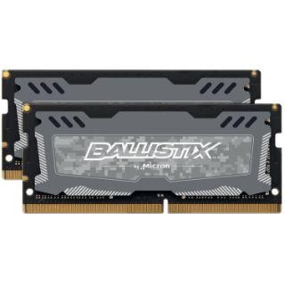 16GB Crucial Ballistix Sport LT V2 Dual Rank grau DDR4-2666 DIMM CL16