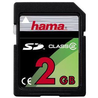 2 GB Hama Standard SD Class 2 Retail