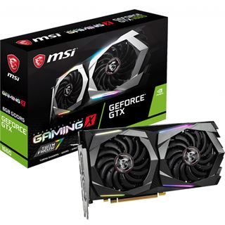 6GB MSI GeForce GTX 1660 Gaming X Aktiv PCIe 3.0 x16 (Retail)