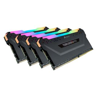 64GB Corsair Vengeance RGB PRO schwarz DDR4-2666 DIMM CL16 Quad Kit