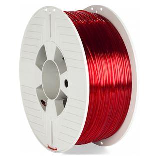 Verbatim PET-G 1kg Transp. 1,75mm 3D Filament rot