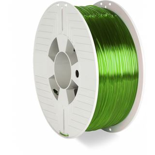 Verbatim PET-G 1kg Transp. 1,75mm 3D Filament grün