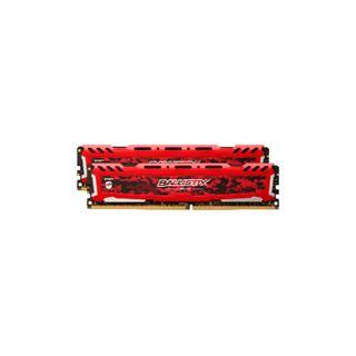 16GB Crucial Ballistix Sport LT V2 Single Rank rot DDR4-2400 DIMM