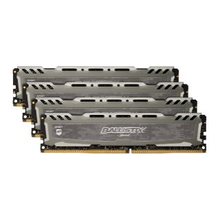 32GB Crucial KIT (8GBX4) DDR4 2400 MT/
