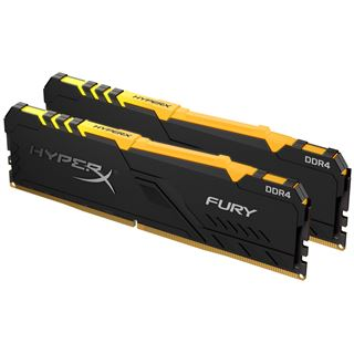 32GB HyperX FURY RGB DDR4-2400 DIMM CL15 Dual Kit