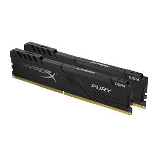 32GB HyperX FURY schwarz DDR4-2400 DIMM CL15