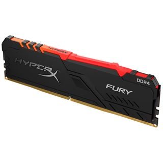 8GB HyperX FURY RGB DDR4-2400 DIMM CL15 Single