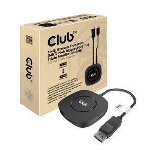 Club 3D Multi Stream Transport Hub 3x DisplayPort 1.3 Triple Monitor