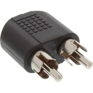 InLine Audio Adapter 3.5mm Klinke Stecker Stereo auf 2xCinch Stecker