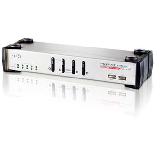 ATEN Technology CS1774 4-fach VGA-USB-KVM-Switch