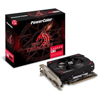 4GB Powercolor Radeon RX 550 Red Dragon 128Bit D/H/DP (Retail)
