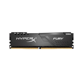 32GB Kingston HyperX Fury schwarz, DDR4-2400 DIMM, CL15, Dual-Kit