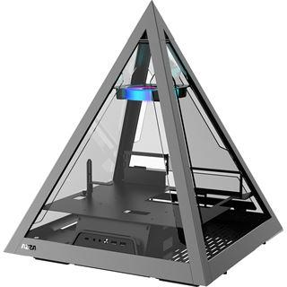 Azza AZZA Pyramid Tower ATX Pyramid 804, ohne Netzteil, mit