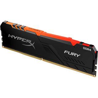 16GB HyperX Fury RGB, DDR4-2400 DIMM, CL15, Single (HX424C15FB4A/16)