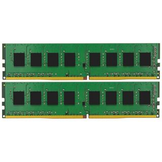 8GB Kingston ValueRAM, DDR4-2400 DIMM, CL17, Dual-Kit (2x4GB)