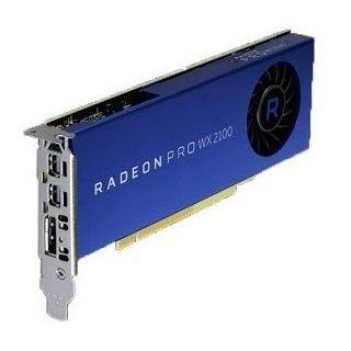 2GB Dell AMD Radeon Pro WX 2100, 2GB GDDR5, DP, 2x mDP (490-BDZU )