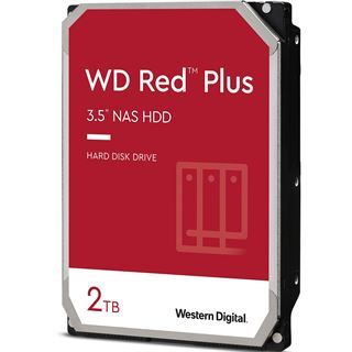 """2000GB WD Red Plus WD20EFZX 128MB 3.5"""" (8.9cm) SATA 6Gb/s"""