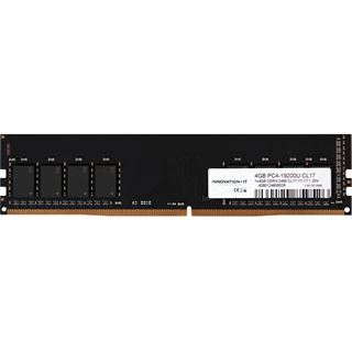 4GB (1x 4096MB) Innovation IT DDR4-2400MHz CL17 1.2V LD