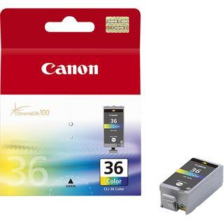 Canon Tinte CLI-36 1511B001 schwarz, cyan, magenta, gelb