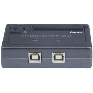 Hama 00042041 2-fach USB 2.0 Sharing Switch