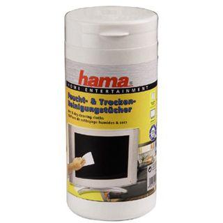 Hama LCD-/Plasma-Feucht- und Trockenreinigungstücher