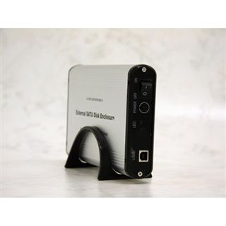"3.5""(8,89cm) Evertech ET-1370 Alu SATA USB 2.0 Silber"