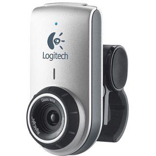 Logitech Web Kamera Deluxe QuickCam 0.3 MPixel 640x480 Schwarz/Silber