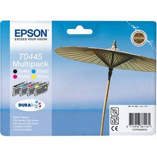 Epson Tinte C13T04454010 schwarz, cyan, magenta, gelb