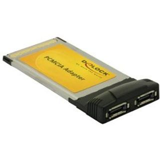 Delock 61618 2 Port PCMCIA retail