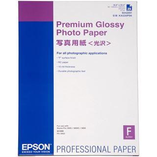 Epson Premium Glossy Fotopapier 59.4x42cm (25 Blatt)
