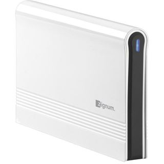 "2.5""(6,35cm) Zignum GEX-ZG-V5-25S.W SATA USB 2.0 Weiß"