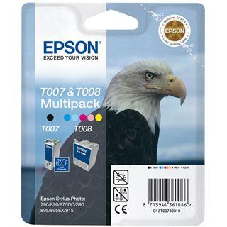 Epson Tinte C13T00740310 schwarz, cyan, magenta, gelb, cyan hell,