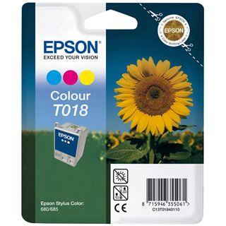 Epson Tinte C13T01840110 cyan/magenta/gelb