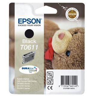 Epson Tinte C13T06114010 schwarz