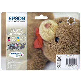 Epson Tinte C13T06154010 schwarz/cyan/magenta/gelb