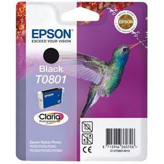 Epson C13T080140 Schwarz 7,4ml